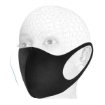 10 PCS Dust-proof Breathable Wind-proof  Fog-proof Disposable Mask (Black)