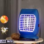 USB UV Light Disinfection Anti-virus Sterilization Lamp Mosquito Killer Lamp(Blue)