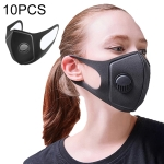 10 PCS Dust-proof Breathable Wind-proof Fog-proof Disposable Mask with Breath-Valve Filter