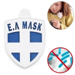 EAMASK Arm Shield Medal Style Air Sterilization Card Anti-influenza Virus Mite-removing Antibacterial Protective Card (Blue)