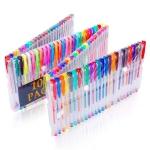 100 Color Flash Color Fluorescent Color Gel Pen Set