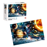 MoFun 88316 DIY Paperboard Space Traveler Puzzle Jigsaw 1000PCS