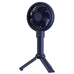 Benks F12 2000mAh Portable Multi-function Handheld USB A-frame Small Fan (Blue)