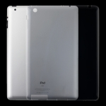 For iPad 4 / 3 / 2 3mm Shockproof Transparent Protective Case