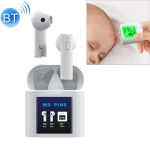 M6 PLUS TWS Bluetooth 5.0 Wireless Bluetooth Earphone with Magnetic Attraction Charging Box & LCD Display, Support for Thermometer & Call & Siri & Power Display