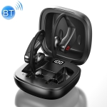 Langsdom B10 Bluetooth 5.0 Wireless Bluetooth Earphone with LED Digital Display & Charging Box, Compatible with IOS & Android System Equipment