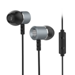 KIVEE KV-MT07 1.2m Wired In Ear 3.5mm Interface HiFi Stereo Earphones with Mic