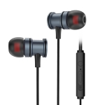 KIVEE KV-MT11 1.2m Wired In Ear 3.5mm Interface Mega Bass Stereo Earphones with Mic