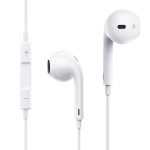 KIVEE KV-MT12 1.2m Wired Half In Ear 3.5mm Interface HiFi Stereo Earphones with Mic