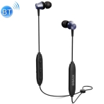 KIVEE KV-TW25 V5.0 Magnetic Adsorption Stereo Sports Bluetooth Earphone, Support Hands-free (Blue)