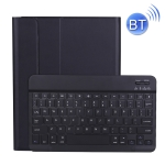 A11B 2020 Ultra-thin ABS Detachable Bluetooth Keyboard Protective Case for iPad Pro 11 inch (2020), with Pen Slot & Holder (Black)