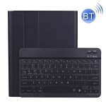 A11BS 2020 Ultra-thin ABS Detachable Bluetooth Keyboard Protective Case for iPad Pro 11 inch (2020), with Backlight & Pen Slot & Holder (Black)