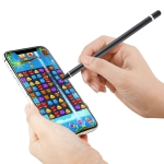 For iPod touch / iPad mini & Air & Pro / iPhone Tablet PC Active Capacitive Stylus (Black)