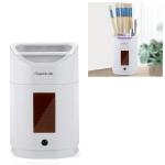 Chopstick Holder Sterilizer Household Wall-mounted Kitchen Shelf Chopsticks Box (White)