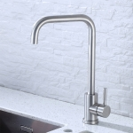 304 Stainless Steel Rotatable Faucet Sinks Cold And Hot Water Tap