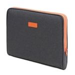POFOKO A220 Series 14-15.4 inch Waterproof Polyester Laptop Bag, Size: 38.0 x 26.5 x 2.5cm (Dark Gray)