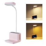 QW-T08 Negative Ion Purifier Eye Protection Table Lamp (Pink)