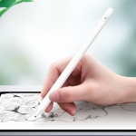 P3 For iPad Tablet PC Anti-mistouch Active Capacitive Pen Stylus Pen(White)