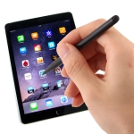 Resistive Capacitive Touch Screen Precision Touch Double Tip Stylus Pen(Black)