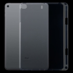 For iPad Mini (2019) / 4 / 3 / 2 / 1 3mm Shockproof Transparent Protective Case with Pen Slot