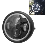 Motorcycle 5.75 inch Aperture Headlight Retro Lamp LED Light Modification Accessories