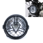 Motorcycle Arrowhead Reticular Retro Lamp LED Headlight Modification Accessories for CG125 / GN125 (White)