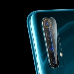 For OPPO Realme X50 5G 2.5D Transparent Rear Camera Lens Protector Tempered Glass Film