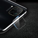 For Huawei nova 6 SE 2.5D Transparent Rear Camera Lens Protector Tempered Glass Film