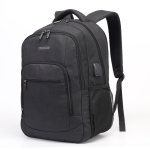 S28 Multi-Function Large Capacity Travel Casual Backpack Laptop Computer Bag with External USB Charging Interface, Size: 40x20x50cm (Black)