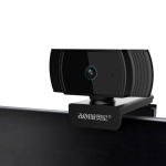 Aoni A20 FHD 1080P IPTV WebCam Teleconference Teaching Live Broadcast Computer Camera with Microphone (Black)