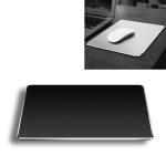 Aluminum Alloy Double-sided Non-slip Mat Desk Mouse Pad, Size : S (Black)