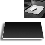Aluminum Alloy Double-sided Non-slip Mat Desk Mouse Pad, Size : L (Black)