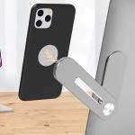 Universal Stickable Aluminum Alloy Laptop Expansion Bracket Magnetic Suction Mobile Phone Bracket