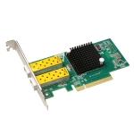 TXA037 Intel 82599 Dual SFP Port  PCI Express FCoE PCIe x8 10 Gigabit Ethernet Network Optical LAN Card Adapter