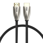 Baseus CADSP-A01 Horizontal HDMI Male to HDMI Male 4K HD Adapter Cable, Length: 1m