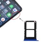 SIM Card Tray + SIM Card Tray for OPPO Realme X2 Pro (Blue)