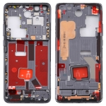 Original Middle Frame Bezel Plate with Side Keys for Huawei P40 Pro (Black)