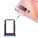 SIM Card Tray + SIM Card Tray for Xiaomi Mi 10(Blue)