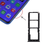 SIM Card Tray + SIM Card Tray + Micro SD Card Tray for OPPO A11x (Black)