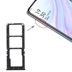 SIM Card Tray + SIM Card Tray + Micro SD Card Tray for OPPO A11 (Black)