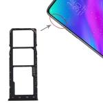 SIM Card Tray + SIM Card Tray + Micro SD Card Tray for OPPO Realme 3 (Black)