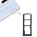 SIM Card Tray + SIM Card Tray + Micro SD Card Tray for OPPO Realme X2 (Blue)