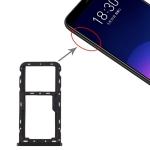 SIM Card Tray + SIM / Micro SD Card Tray for Meizu M6T (Black)