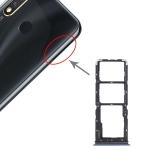 SIM Card Tray + SIM Card Tray + Micro SD Card Tray for vivo Y5s (Blue)