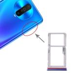 SIM Card Tray + SIM / Micro SD Card Tray for Xiaomi Redmi K30 (Blue)