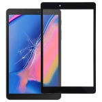 Front Screen Outer Glass Lens for Galaxy Tab A 8.0 (2019) SM-T290 (WIFI Version) (Black)