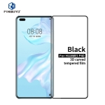 For Huawei P40 PINWUYO 9H 3D Curved Full Screen Explosion-proof Tempered Glass Film(Black)