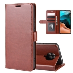For Xiaomi Redmi K30 Pro R64 Texture Single Horizontal Flip Protective Case with Holder & Card Slots & Wallet& Photo Frame(Brown)