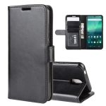 For Nokia 1.3 R64 Texture Single Horizontal Flip Protective Case with Holder & Card Slots & Wallet& Photo Frame(Black)