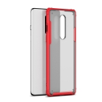 For OnePlus 8 Four-corner Shockproof TPU + PC Protective Case(Red)